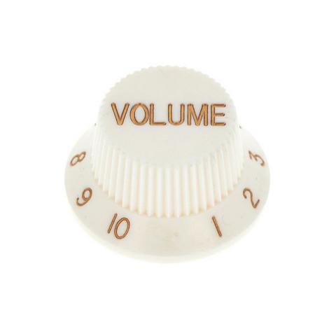 Potikan nuppi valkoinen, volume (uusi)