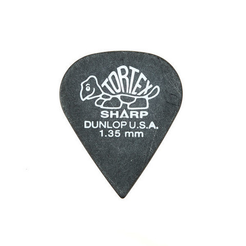 Dunlop Plektra Tortex Sharp 1,35
