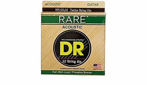 DR Strings Rare RPL-10/12 (10-48) 12-kielisen Akustisen kitaran kielisetti