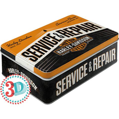 Tin Box, Harley-Davidson Service & Repair (new)