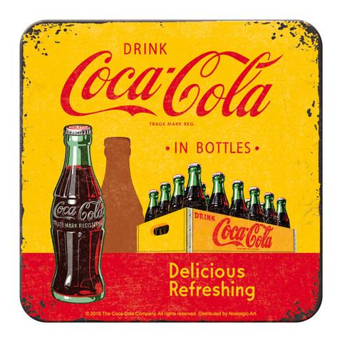 Coaster, Coca-Cola in Bottles (NEW)