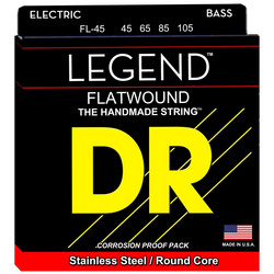 DR Strings Legend FL-45 (45-105) Flatwound