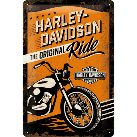 Kilpi 20x30 Harley-Davidson The Original Ride (uusi)
