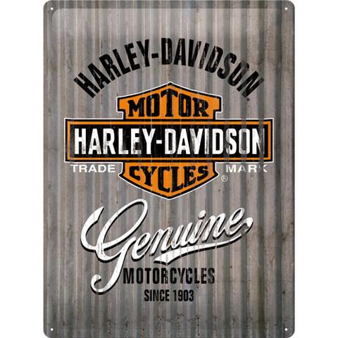 Metal Sign, Harley-Davidson Genuine  (new)