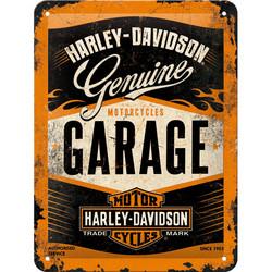 Seinäkyltti, Harley-Davidson Garage 15x20 cm (UUSI)