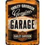 Metal Sign, Harley-Davidson Garage 15x20 cm (NEW)