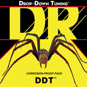 DR STRINGS DROP-DOWN TUNING DDT CUSTOM 13-65 28W SÄHKÖKITARAN