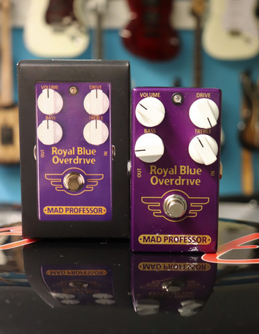 MAD PROFESSOR Royal Blue Overdrive (käytetty, myyntitili)