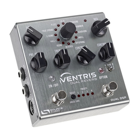 SOURCE AUDIO VENTRIS DUAL Reverb (uusi)