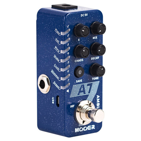 MOOER A7 AMBIANCE REVERB (uusi)