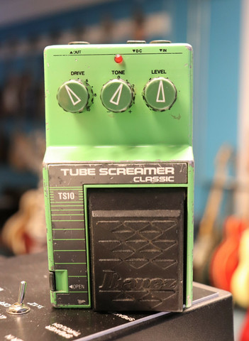 Ibanez Tube Screamer Classic TS10 Japan (käytetty)