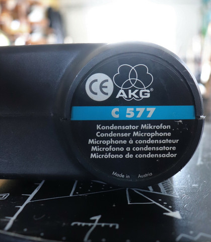 AKG C 577 WR Lavalier Microphone (used)