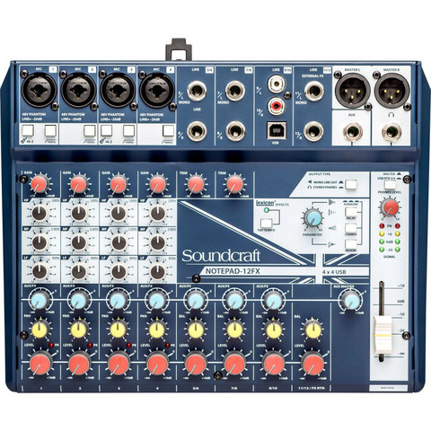 Soundcraft Notepad-12FX (uusi)
