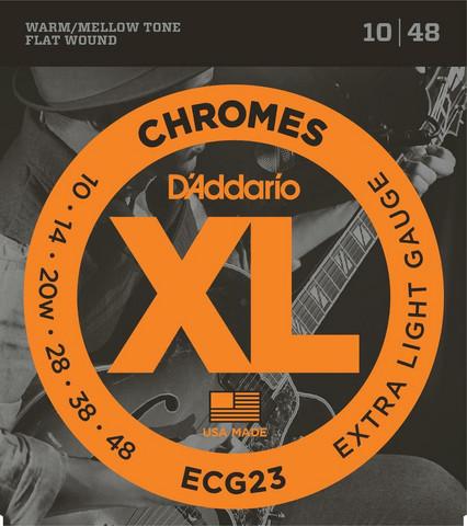 D'Addario ECG23 Flatwound Extra Light 010-048