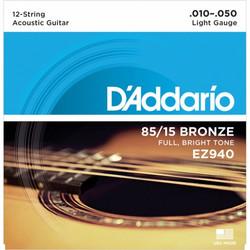 DADDARIO 010-050 EZ940 12-KIELISELLE