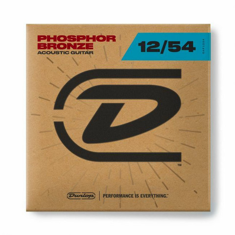 DUNLOP 12-54 PHOSPHOR BRONZE DAP1254