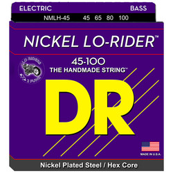 DR STRINGS NICKEL LO-RIDER NMLH-45 (45-100)
