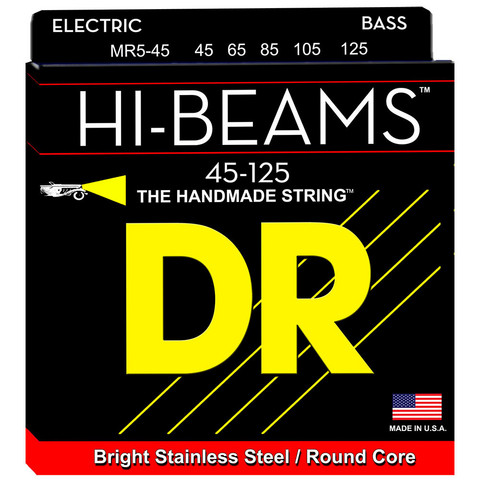 DR STRINGS HI-BEAM MR5-45 (45-125) 5-KIELISEN