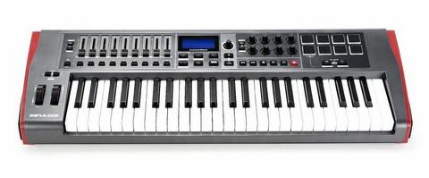 Novation Impulse 49 MIDI-kosketinohjain (uusi)