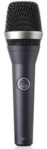 AKG D5 Dynamic Vocal Microphone (new)