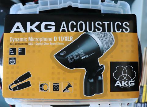 AKG ACOUSTIC D11/ XLR mic (käytetty)