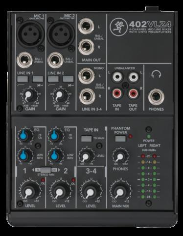 Mackie 402 VLZ4 mixer (new)