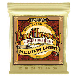 Ernie Ball EB-2003 Earthwood Bronze Medium Light 12-54 (uusi)