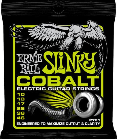 Ernie Ball EB-2721 Cobalt Regular Slinky 10-46