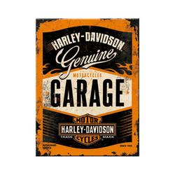 Harley-Davidson Garage, jääkaappimagneetti (uusi)