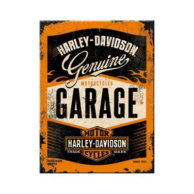 Fridge magnet, Harley-Davidson Garage (new)
