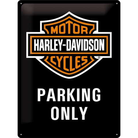 Kilpi 30 x 40 cm Harley-Davidson - Parking Only