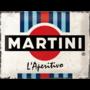 Metal sign, Martini 30 x 40 cm (NEW)