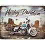 Seinäkyltti Harley Davidson Route 66, 30 x 40 cm (UUSI)