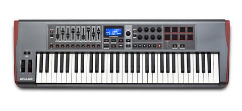 Novation Impulse 61 monipuolinen MIDI-kosketinohjain (uusi)