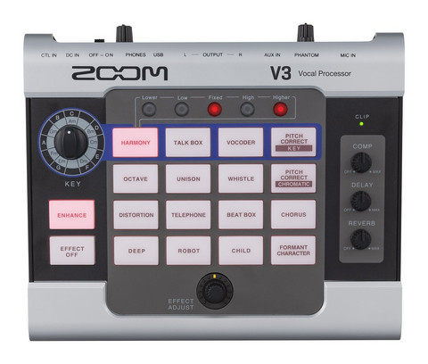 Zoom V3 Vocal Processor (uusi)