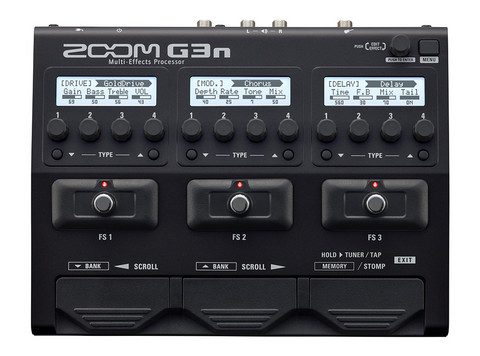 Zoom G3n Multi-Effects Processor (uusi)