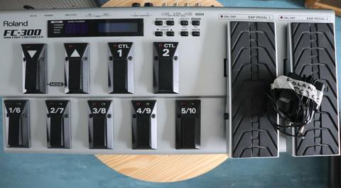 ROLAND FC-300 MIDI FOOT CONTROLLER (used)