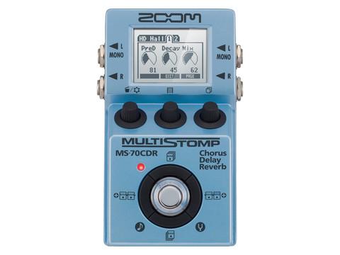 Zoom MS-70CDR chorus/delay/reverb (uusi)