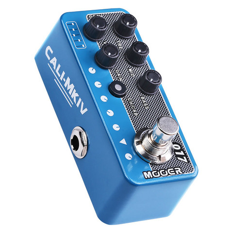 Mooer Micro Preamp 017 Cali MK IV Etuaste (uusi)