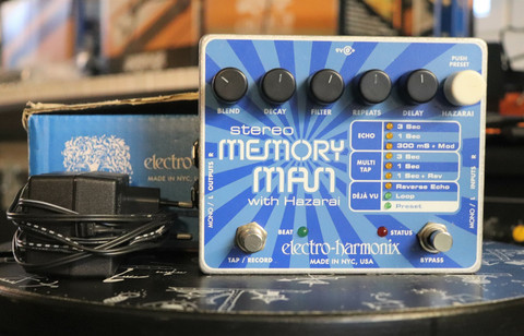 Electro-Harmonix Stereo Memory Man Hazarai (used)