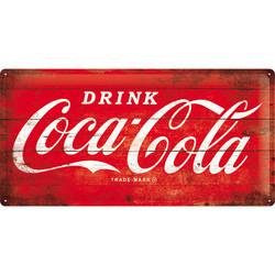 Seinäkyltti Coca-Cola LOGO 25cmx 50cm (UUSI)