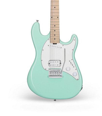 Sterling By Music Man, Cutlass Short Scale Mnt GR (new)
