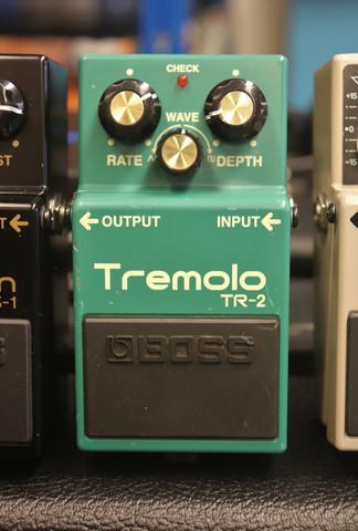 BOSS TR-2 Tremolo (käytetty, myyntitili)