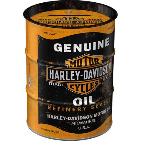 Money Box, Harley-Davidson Genuine Oil (NEW)