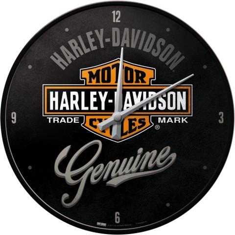 Wall Clock, Harley-Davidson Genuine (NEW)