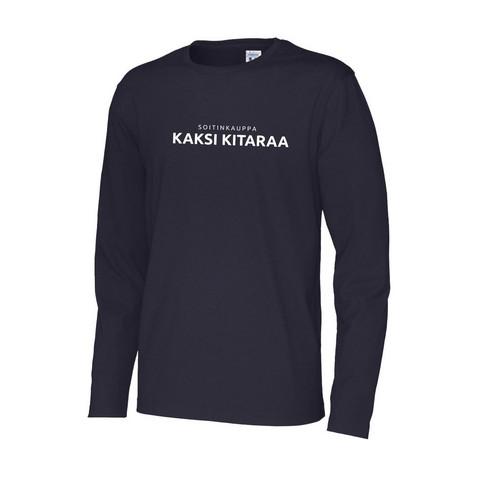Kaksi Kitaraa pitkähihainen T-paita (uusi)