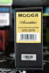 MOOER Acoustikar Acoustic guitar simulator (käytetty)
