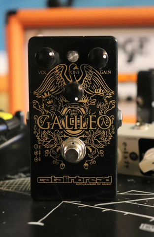Catalinbread Galileo Treble Boost Overdrive (käytetty)