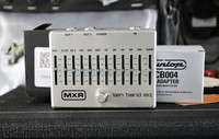 MXR M108S 10-BAND GRAPHIC EQ (käytetty)