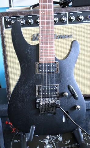 Ibanez S520 Weathered Black (käytetty)